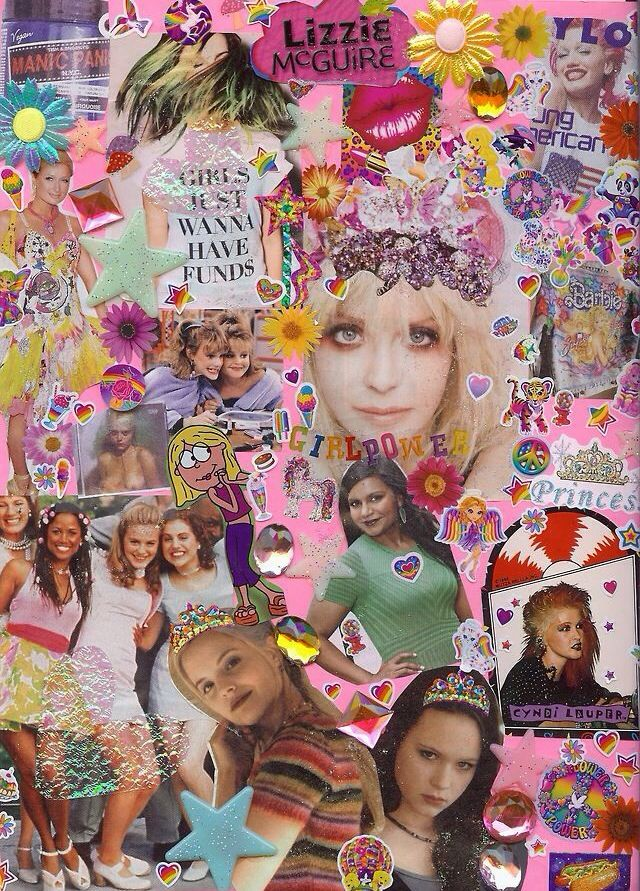 90s Collage Collage Art Art Collage
