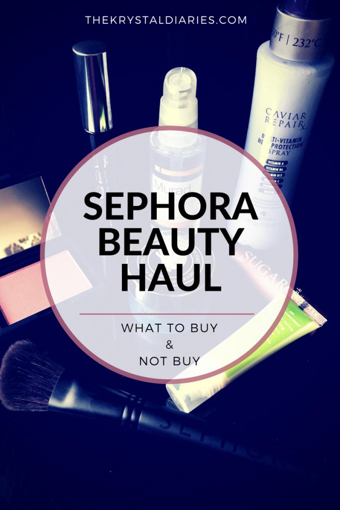 Sephora Beauty Haul - What to Buy   Sephora och Skönhet