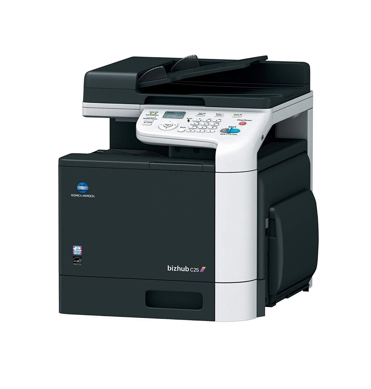Konica Minolta Bizhub C25 Color Laser Multifunction Printer Multifunction Printer Konica Minolta Printer