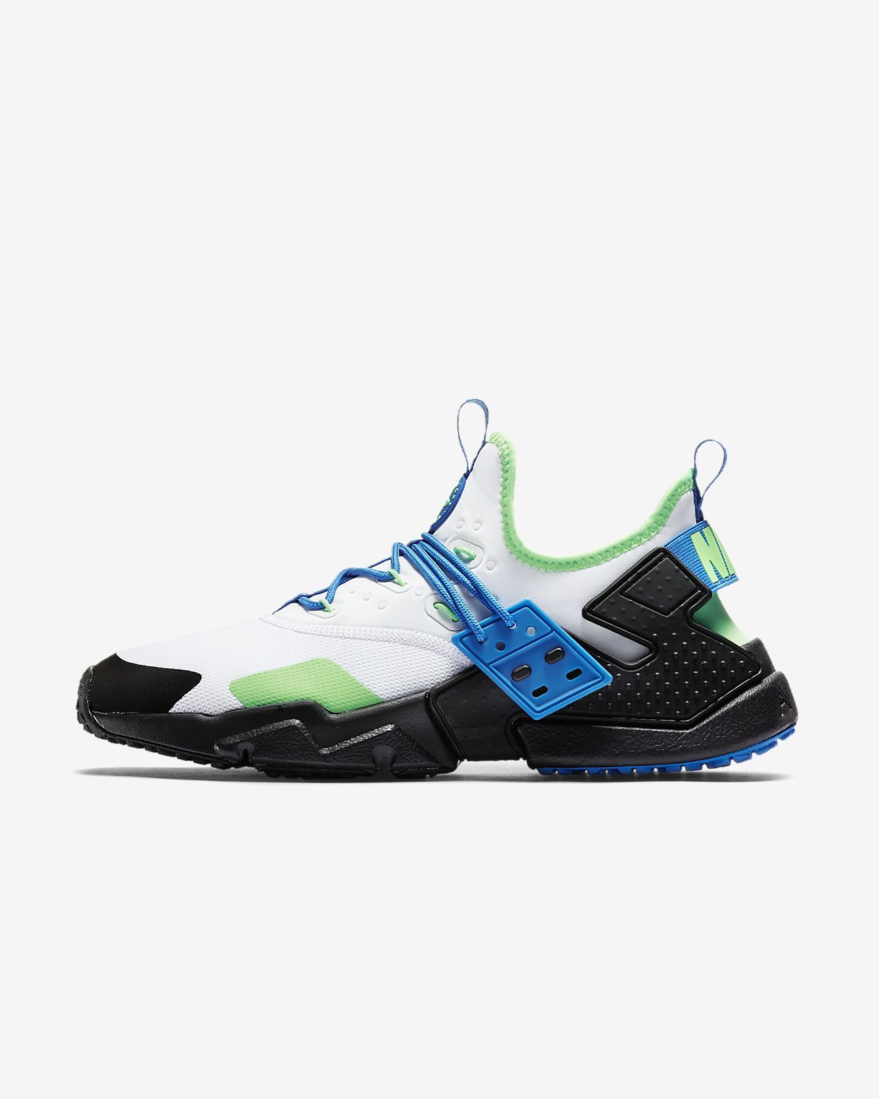 8061d5dee5f8f Nike Air Huarache Drift Men's Shoe unites the best design elements of the  era with a customizable lacing system that lets you wear it in different  way ...