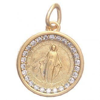 143637d180f4 Medalla plata 800 Virgen Milagrosa 1