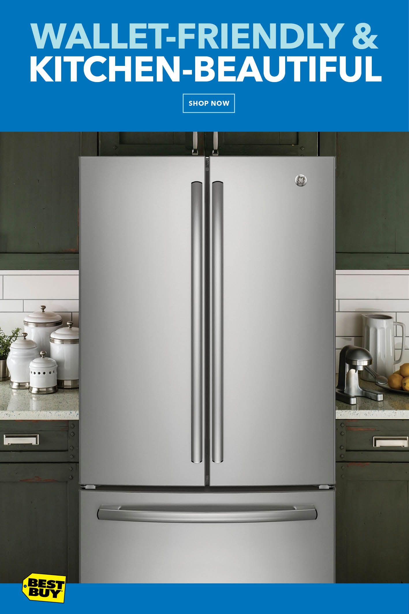 With French Door Refrigerators Starting At 1 169 99 It S The Perfect Time To Give Your Kitchen The Attention I Home Renovation Cool Things To Buy Home Buying