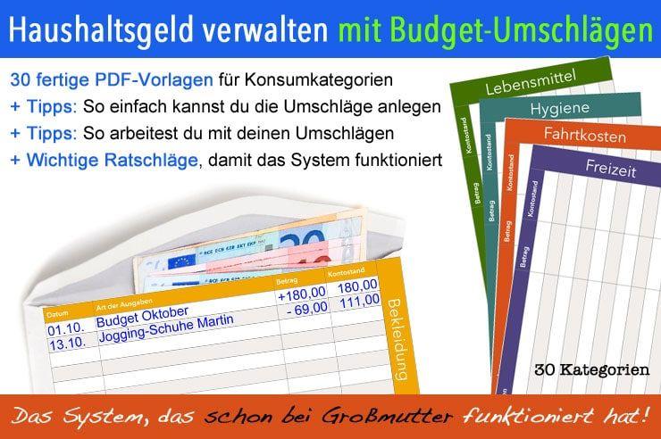 Mit diesem praxiserprobten System setzt du dir ein klares Budget für ...