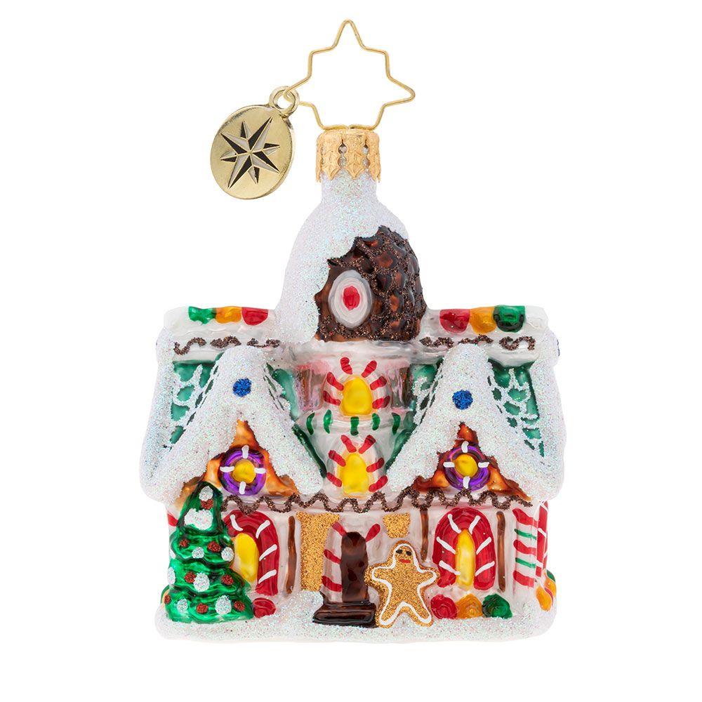 Christopher Radko NEW 2019 Little Gem Sweet Invitation Christmas Ornament