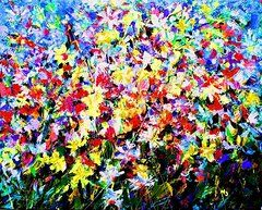 Mario Zampedroni - Floral Abstract