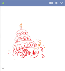 Happy Birthday Cake Cake images Facebook timeline and Timeline