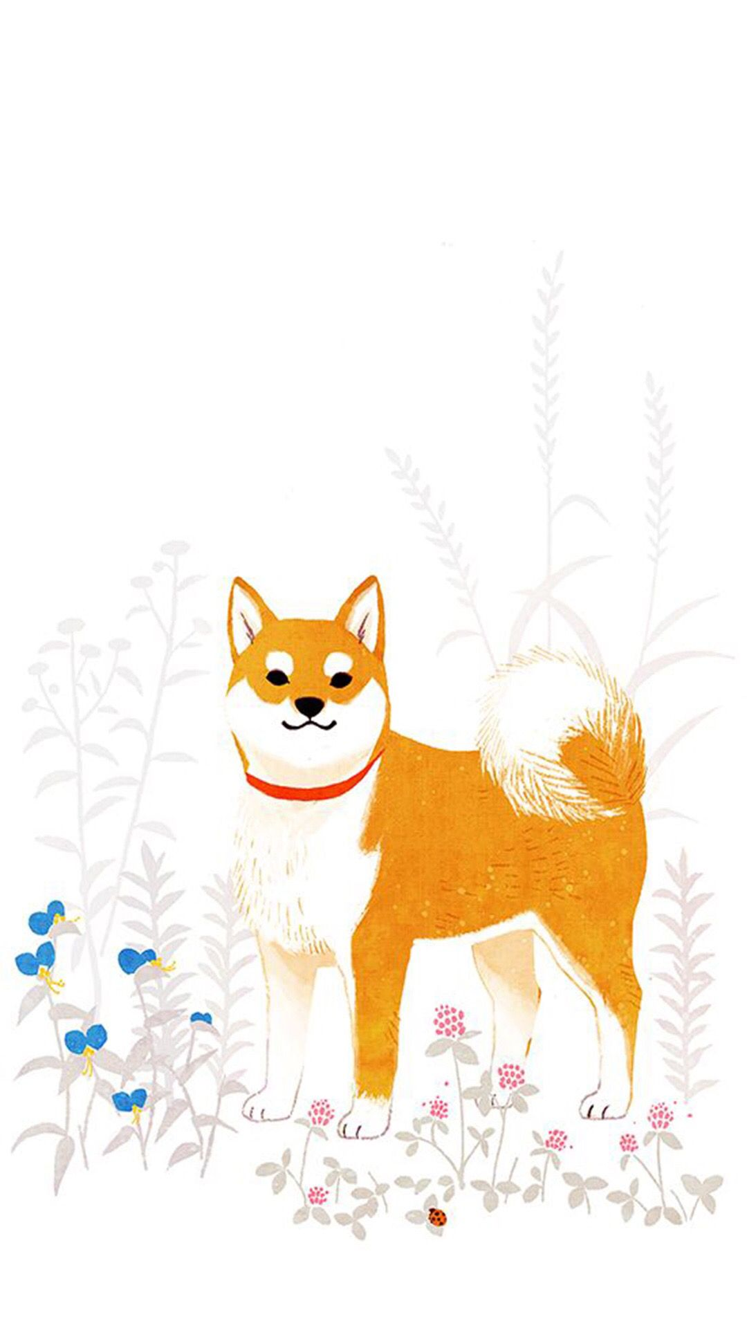 2018 年の「shibaken iphone壁紙 wallpaper backgrounds | ☆動物の