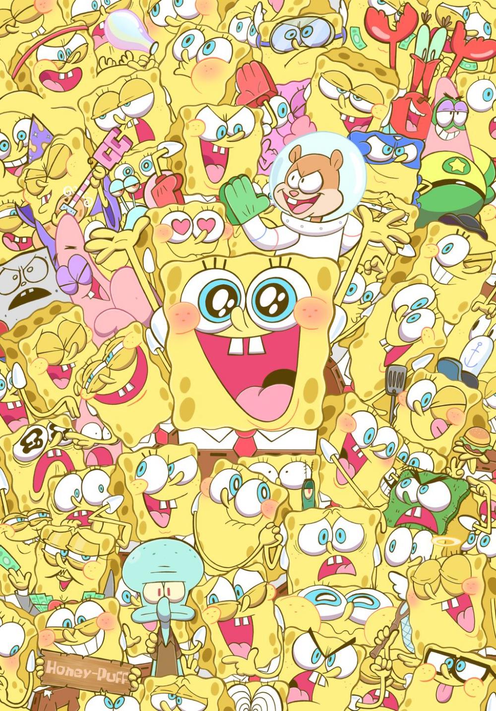 Spongies! by HINOKIpastry on DeviantArt Spongebob