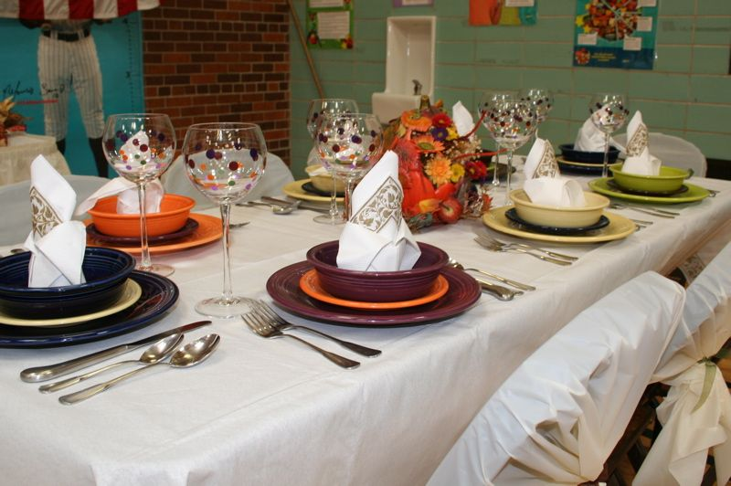Fiestaware Table Setting Ideas & Total Table Decor Cost $62 (keep In ...