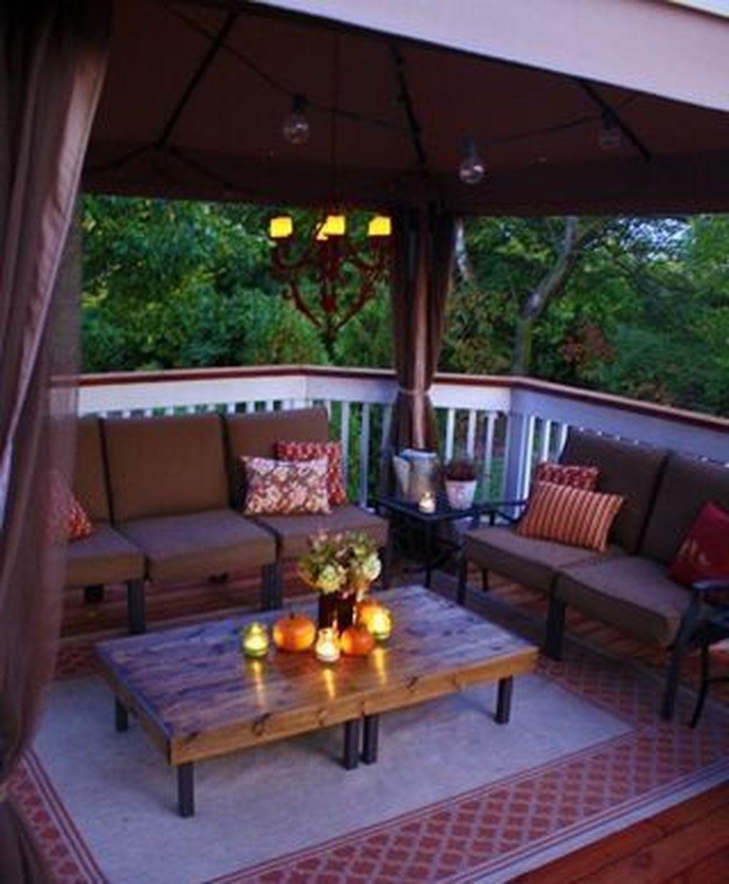 34 Amazing Outdoor Deck Lighting Ideas Small Deck Decorating Ideas Deck Decorating Decks Backyard