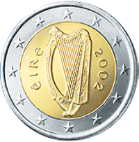 The Euro The Government Of Ireland Decided On A Single National Design For All Irish Coin Denominations They Show The Celtic Simboli Irlandesi Monete Irlanda