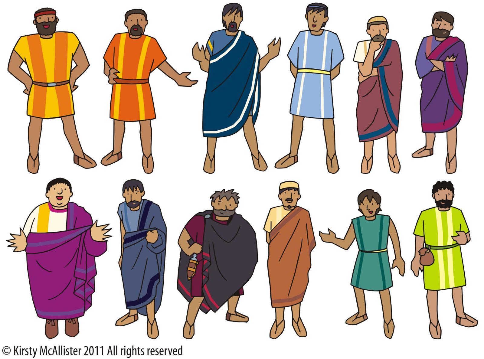 Jesus Fan Disciples Craft 12
