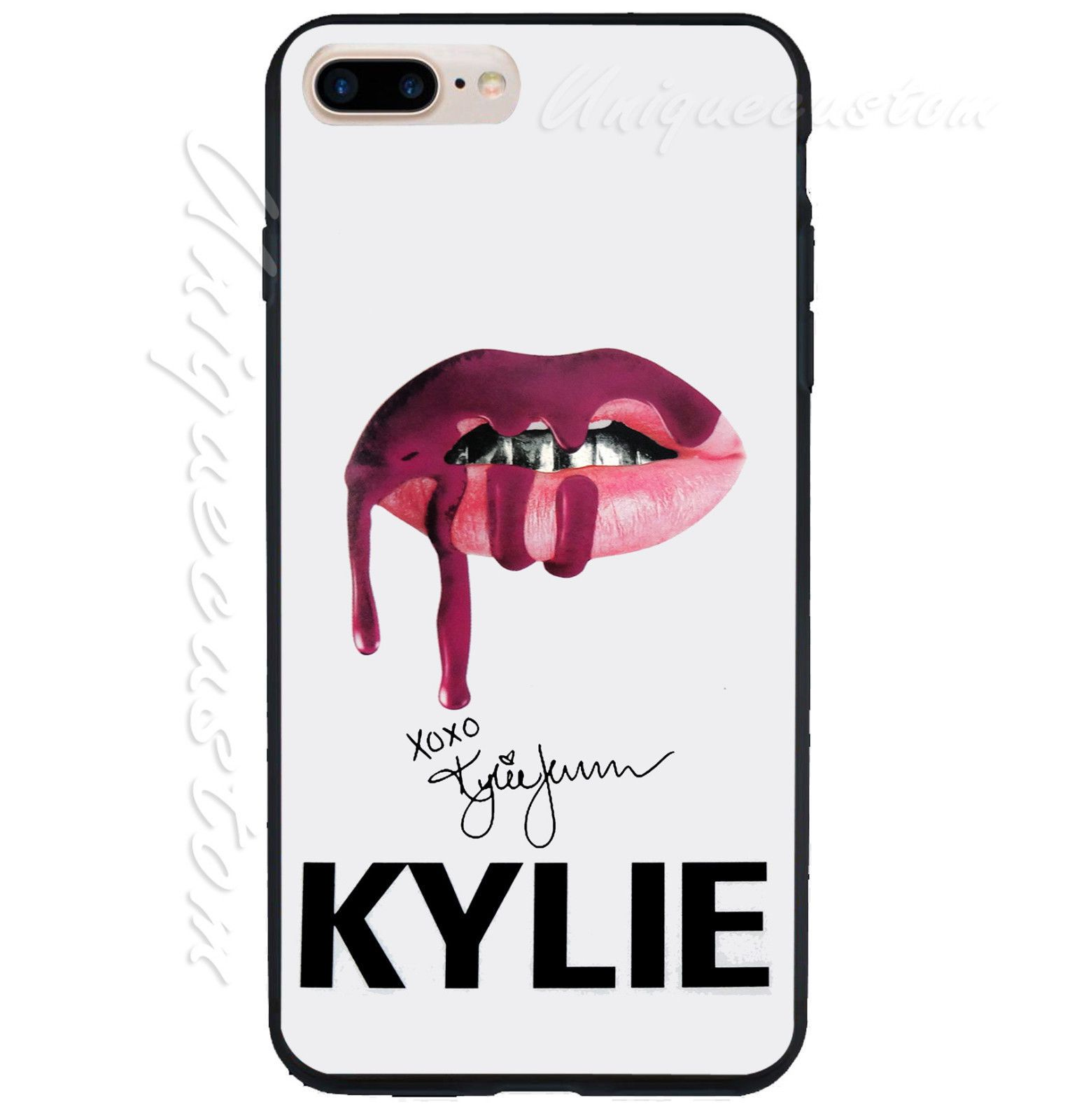 New Hot Rare Design Kylie Jenner Lips Signature Cover Phone Case For iPhone  6/6s