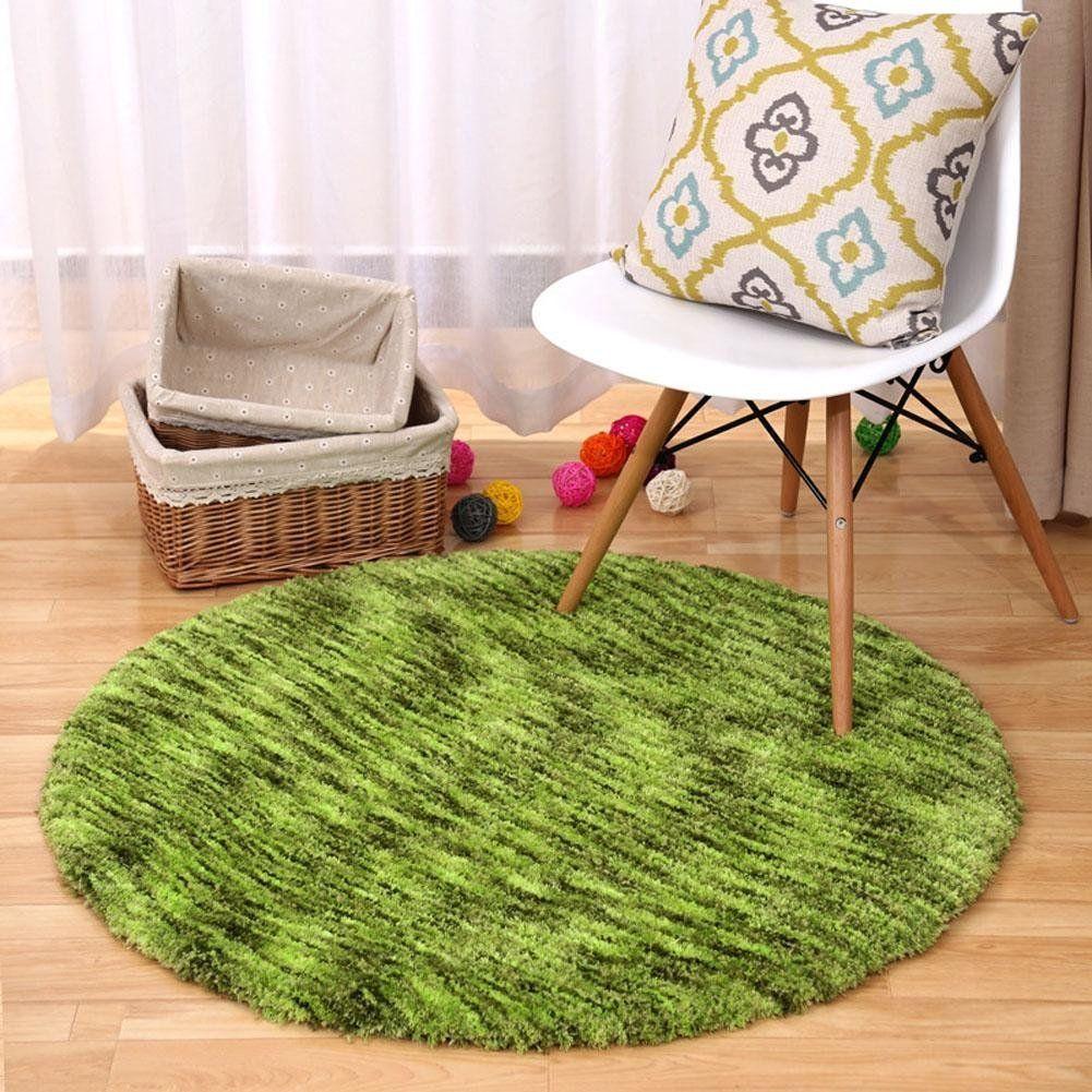 tapis rond pas cher couleur vert tendances et conseils. Black Bedroom Furniture Sets. Home Design Ideas