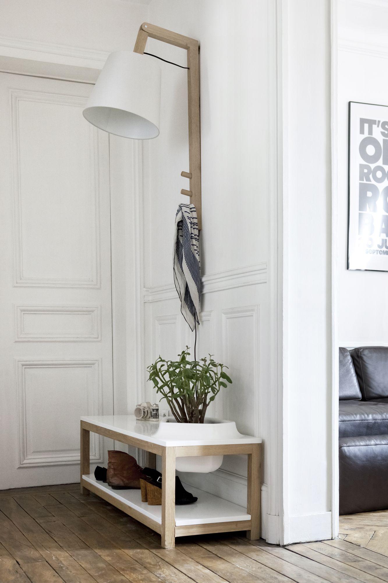 lampe de sol tendance en tiges de bambou naturel h 50 ou. Black Bedroom Furniture Sets. Home Design Ideas