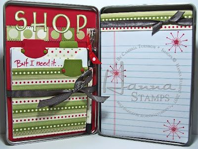 Stamp a Little Love Baby!: Holiday Hanna DVD Shopping Tin