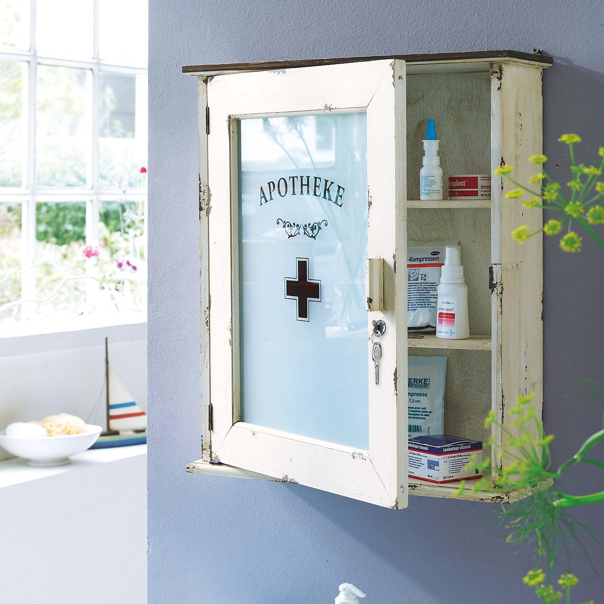 Medizinschränkchen aus Holz | Medizinschränkchen und Medizinboxen ...