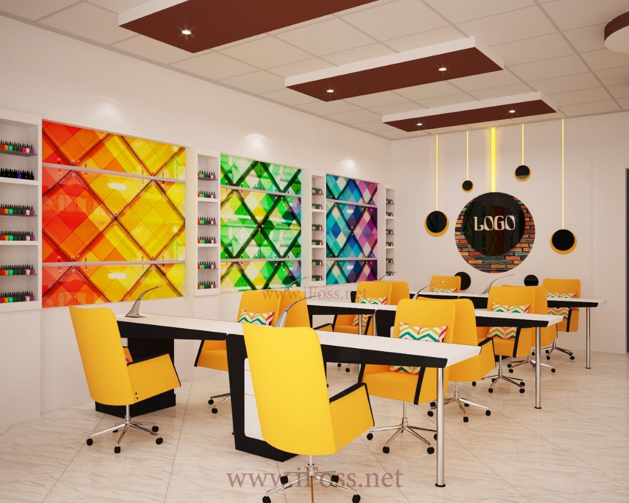 Nail Salon Design, Top Nail, Nail Salons, Beauty Salons, Manicures