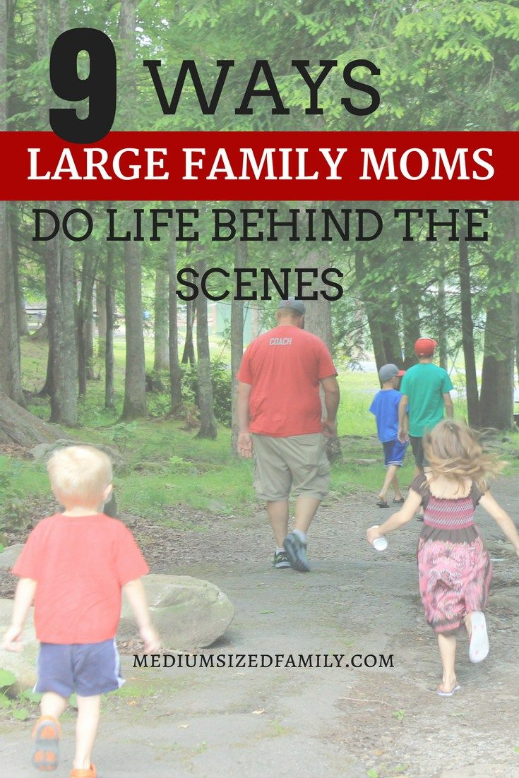 Large family - who is behind