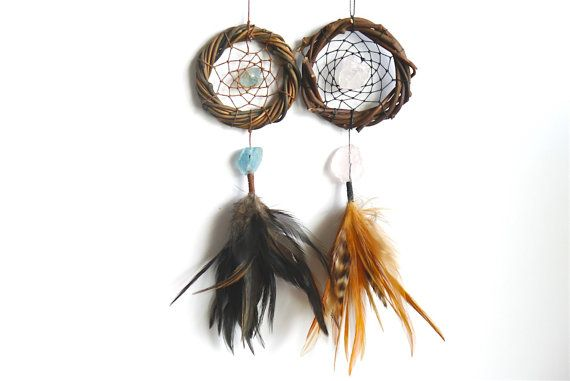 THE NUGGETS - Dreamcatchers - Gypsy Decor - Car Dream catcher - Car Accessories - Bridesmaid Gifts