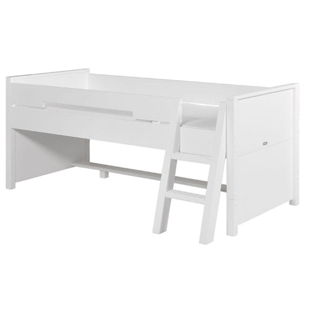 Bopita Combiflex Montagem Set Compacto Cama Com Dossel Branco  # Comprar Muebles Bopita