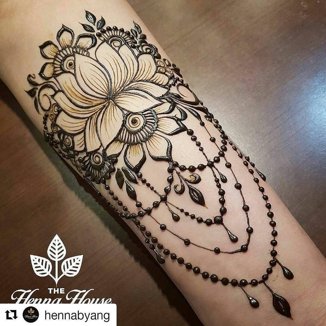 Henna Designs For Inner Arm: This As A Stirnum Tattoo Or Henna?