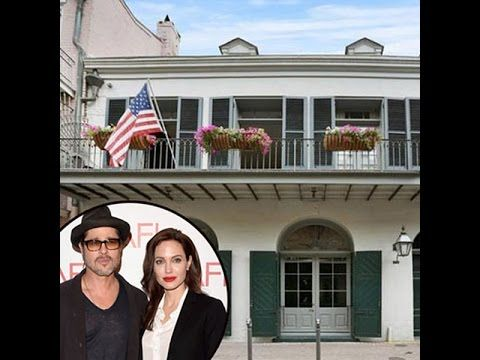 Angelina Jolie And Brad Pitt Sell Their New Orleans Home For 49