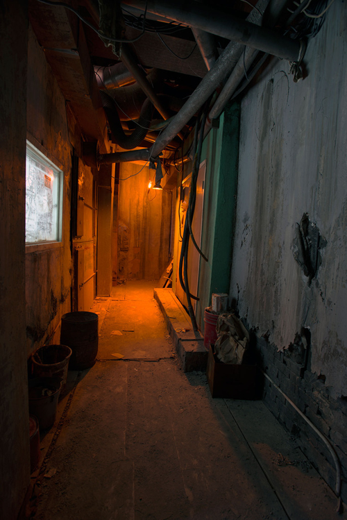Through The Janitor Closet   An Unbelievable Installation