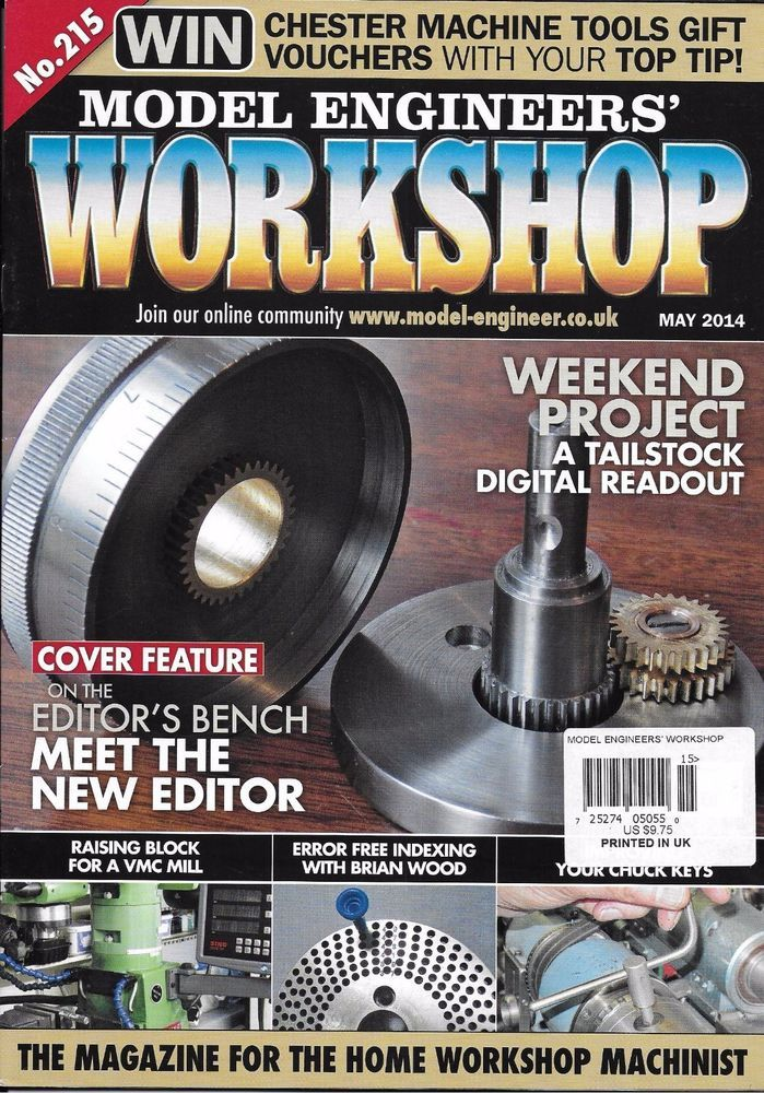Model engineers workshop magazine weekend project tailstock digital diy comic book model engineers workshop magazine weekend project tailstock digital readout mill solutioingenieria Gallery