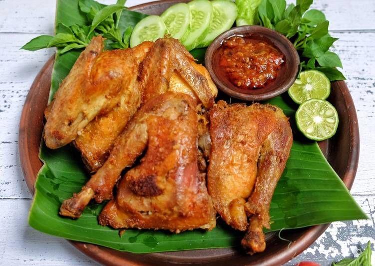 Resep Ayam Goreng Kalasan Oleh Susi Agung Resep Resep Ayam Resep Masakan Ayam Goreng