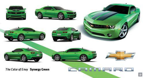 2011 Chevrolet Camaro Synergy GreenGmphotostore  CAMARO