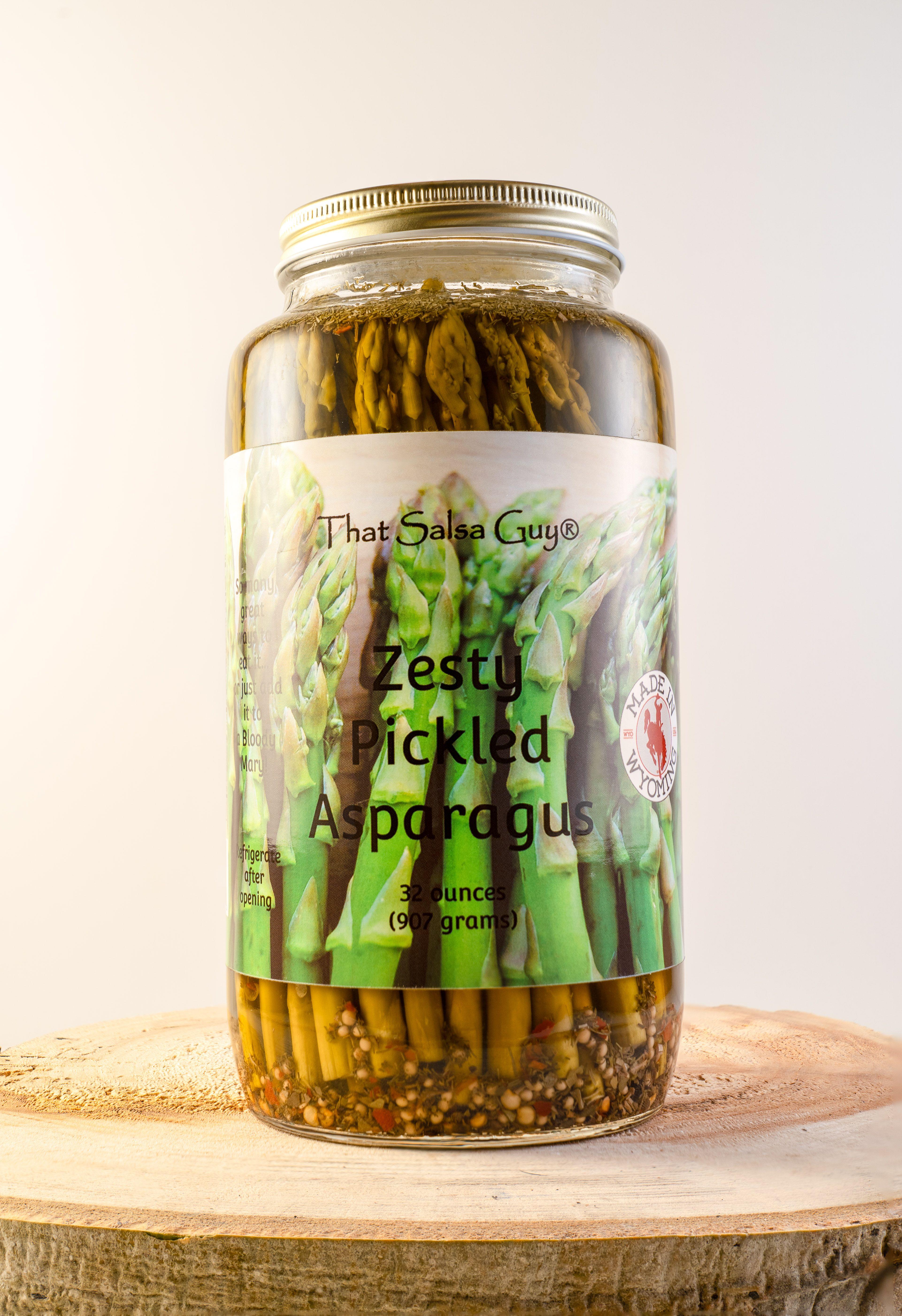 Zesty Pickled Asparagus Pickle Vodka Pickled Asparagus