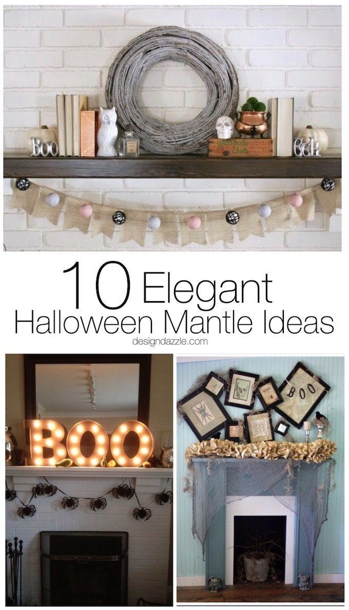 10 elegant halloween mantle ideas mantle ideas mantle 10 elegant halloween mantle ideas