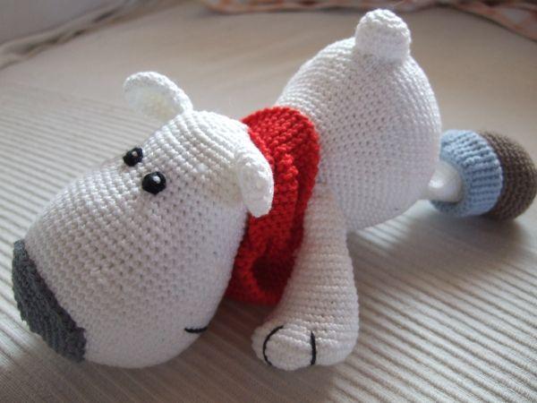 Eisbär gehäkelt häkeln, crochet polar bear, pfiffigste, pattern ...
