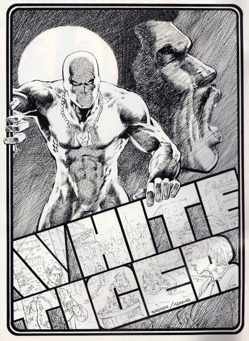 white tiger marvel powers