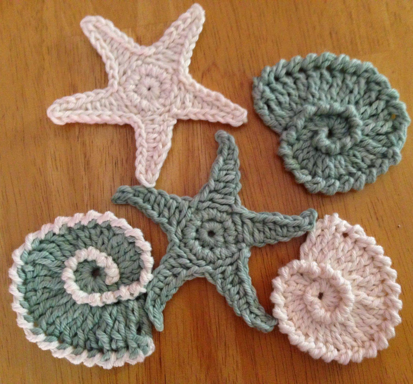 Da\'s Crochet Connection: Sea Shell Motifs/Garland #1   A2 Textiles ...