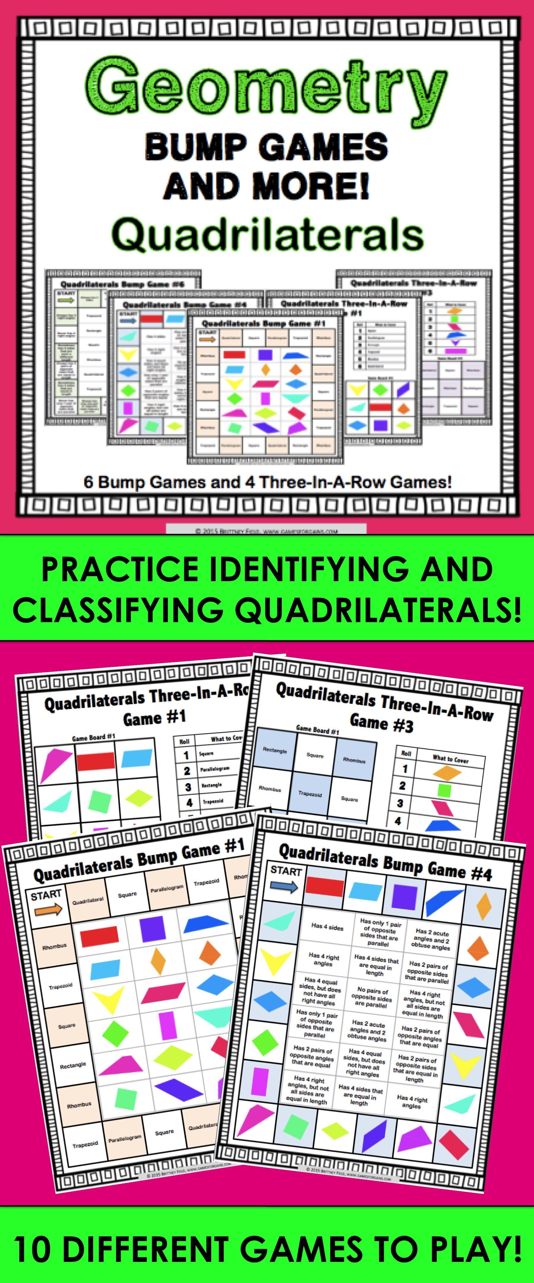 Quadrilaterals Games