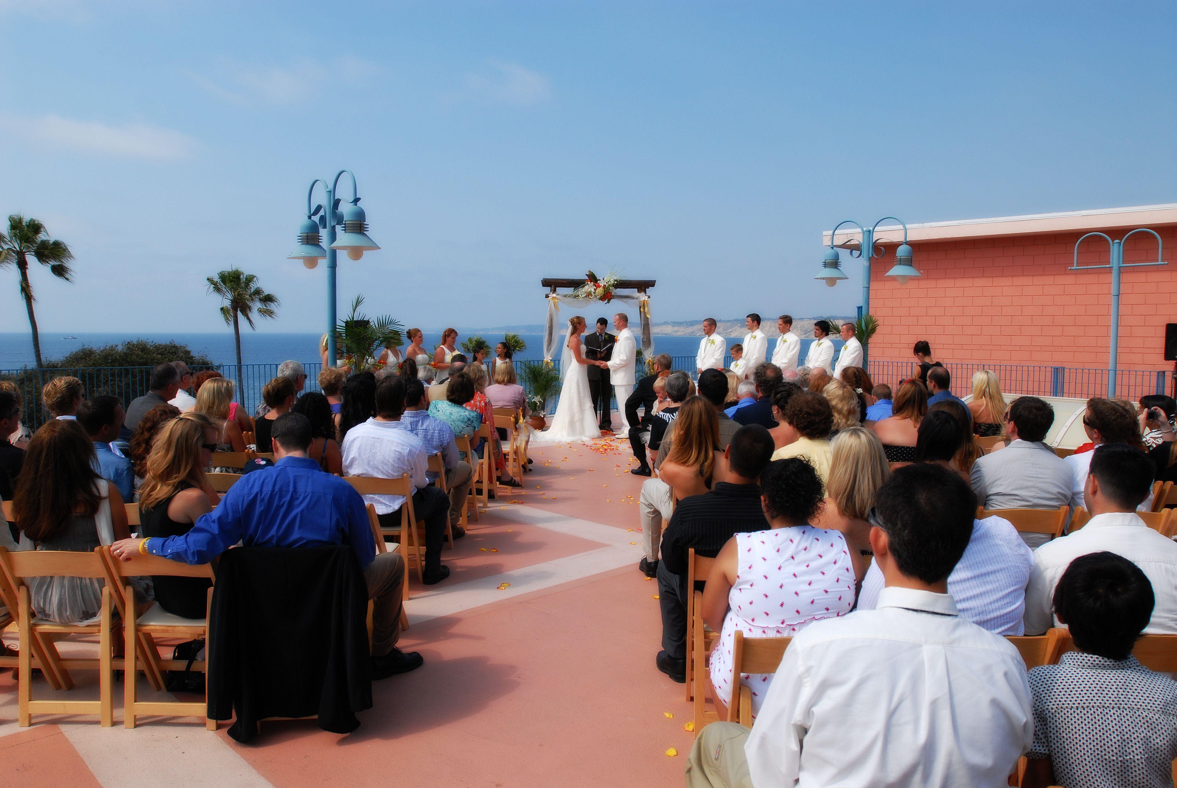 Oceanfront | #Weddingvenue | La Jolla Cove Suites | Weddings at the ...