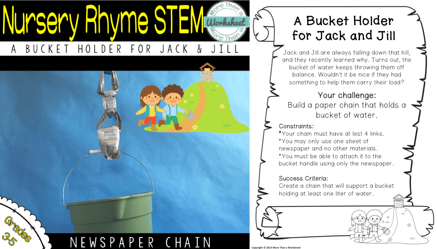 The Best Stem Challenge Ever Newspaper Chain Challenge