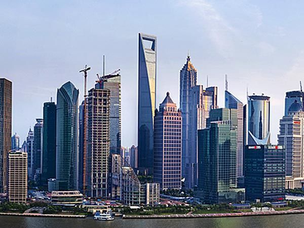 Shanghai World Financial Center Location: Shanghai, China Height: 1,614 feet Completion Date: 2008
