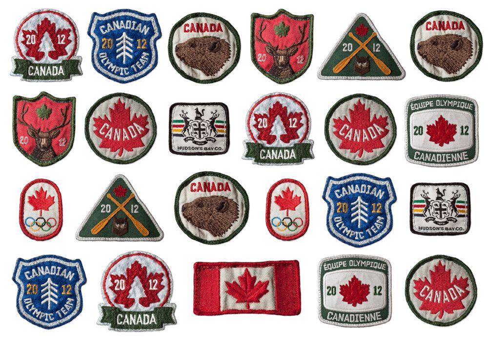 Super rad Canada patches by Arcade. Badge design, Retro