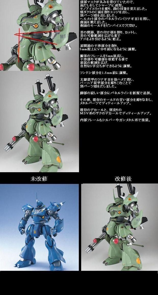 Bandai MG 003669 GUNDAM MS-18E Kampfer 1//100 scale kit