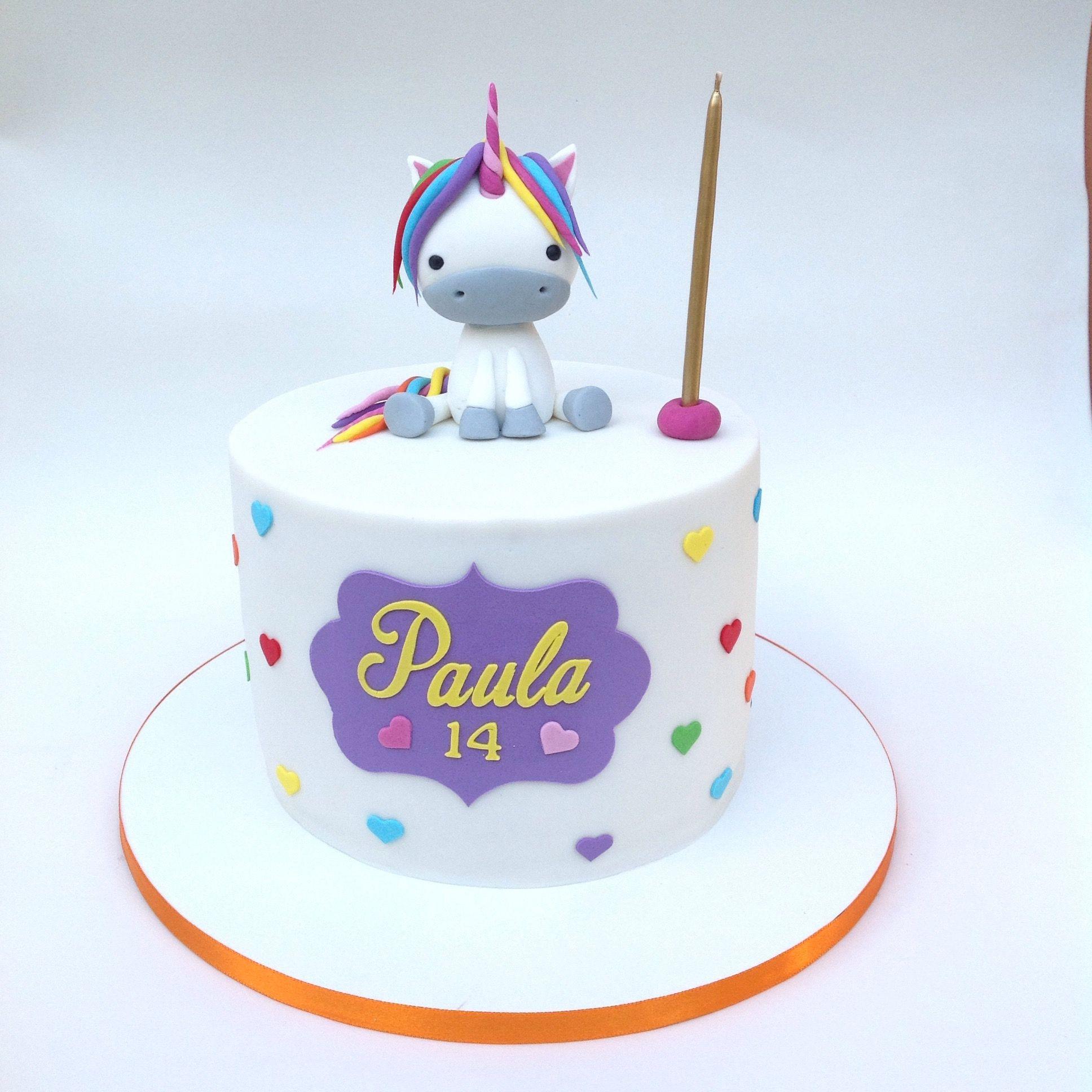 Unicorn Cake Bolo Unicornio Rainbow Arcoiris Bolo