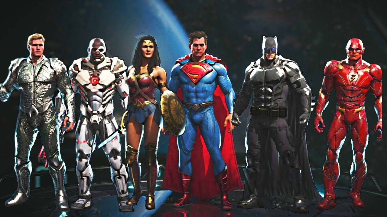 Injustice 2 All Justice League Movie Gear Intros Clash Quotes And S Justice League Injustice 2 Injustice 2 Game