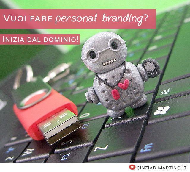 Vuoi fare personal branding? Inizia dal dominio!