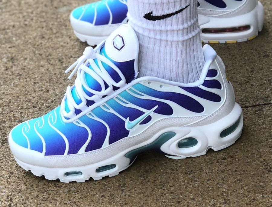 Review : Nike Air Max Plus Requin OG Fierce Purple Bleached