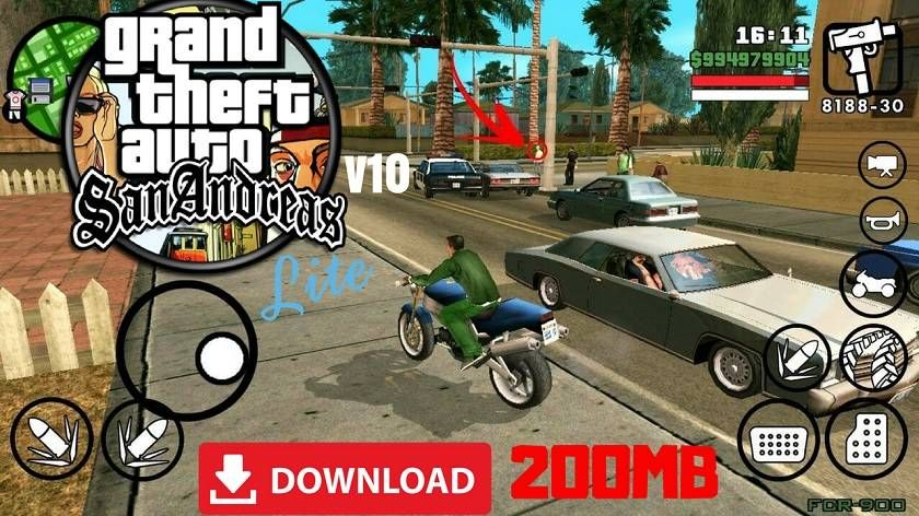 GTA SA Lite Apk Data Highly Compressed 200MB Download | trươngva