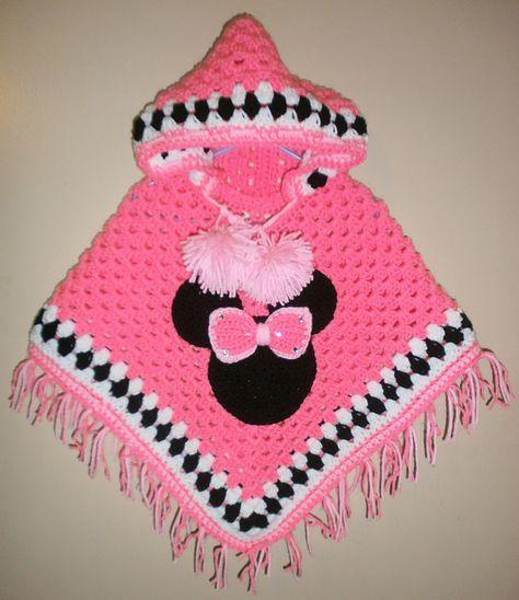 Mrs. mouse poncho pattern by Jennifer rose | Pinterest | Häkeln