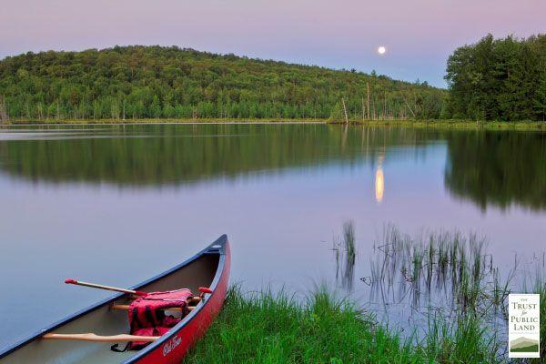 Zack Woods Outdoor Vacation Vermont Canoe Pictures