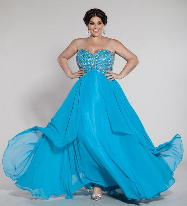 2014 Plus Size Prom Dresses For A Curvy Figure 24 Pictures Plus